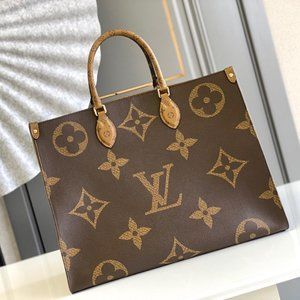 """By LV """"Onthego-MM"""" Giant  Monogram Totes Bag"""